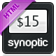 Synoptic Premium HTML & CSS3 Template - ThemeForest Item for Sale