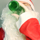 Drunken Santa Claus Drinking Beer - VideoHive Item for Sale