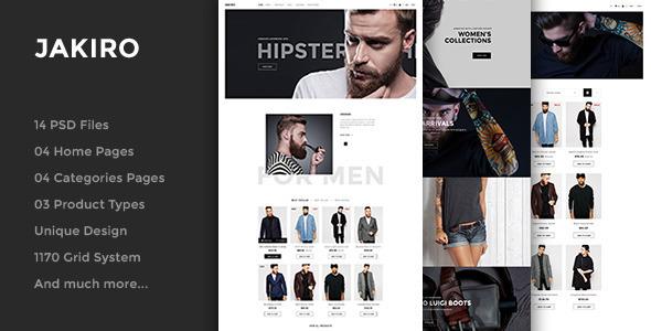Jakiro – Fashion Shop WordPress Theme
