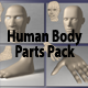 Human Body Parts Pack - 3DOcean Item for Sale