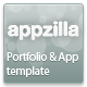 Appzilla - App/Portfolio theme (4 skins) - ThemeForest Item for Sale
