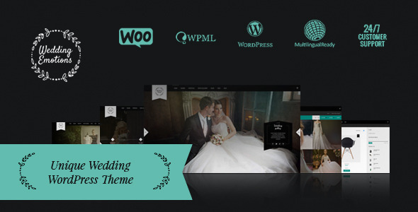 Wedding Emotions – WordPress Theme