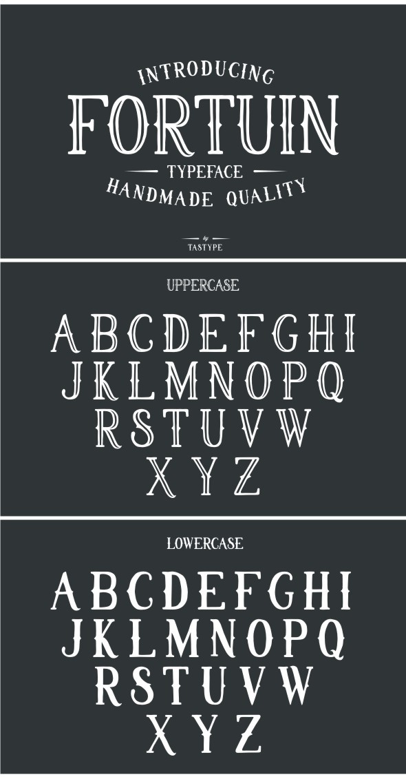 Fortuin Typeface - Serif Fonts
