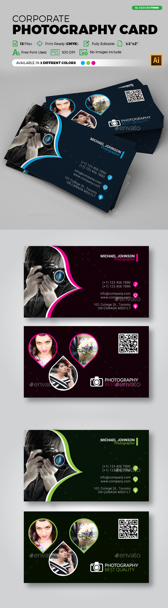 Business Card 147 - Business Cards Print Templates