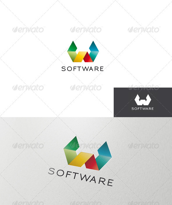Abstract and Colorful Logo - Abstract Logo Templates