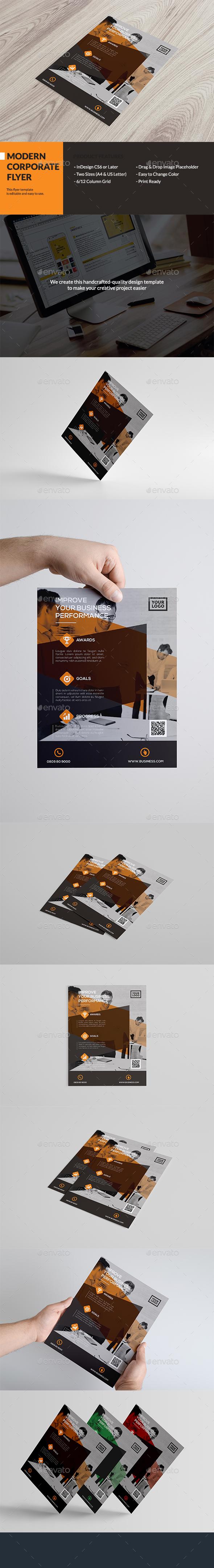 Modern Corporate Flyer - Corporate Brochures