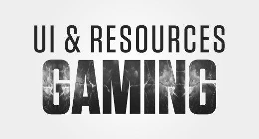 Gaming - UI and Resources