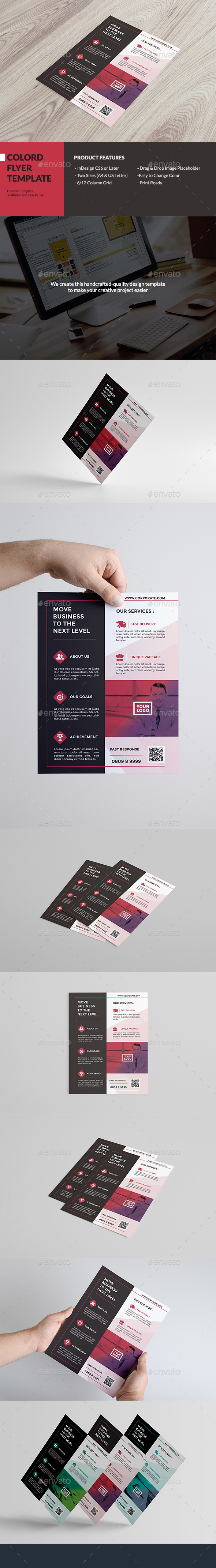Colord Corporate Flyer - Corporate Brochures