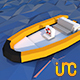 Low Poly Boat - 3DOcean Item for Sale