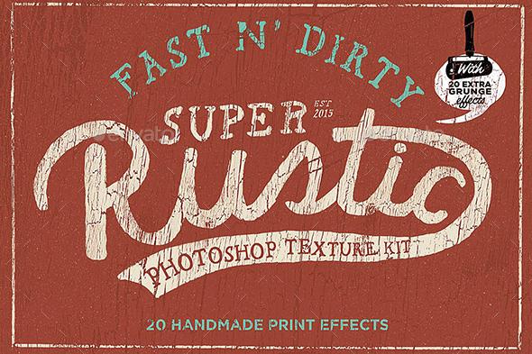 Rustic photoshop texture kit - Miscellaneous Backgrounds