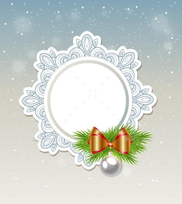 Decorative Christmas Banner  - Christmas Seasons/Holidays