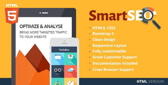 SmartSEO   SEO & Marketing HTML Theme - Marketing Corporate