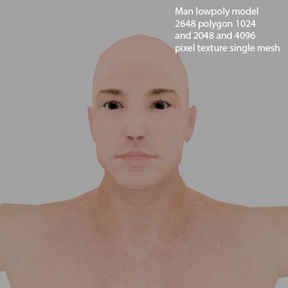 man1 - 3DOcean Item for Sale