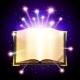 Magic Book Illustration