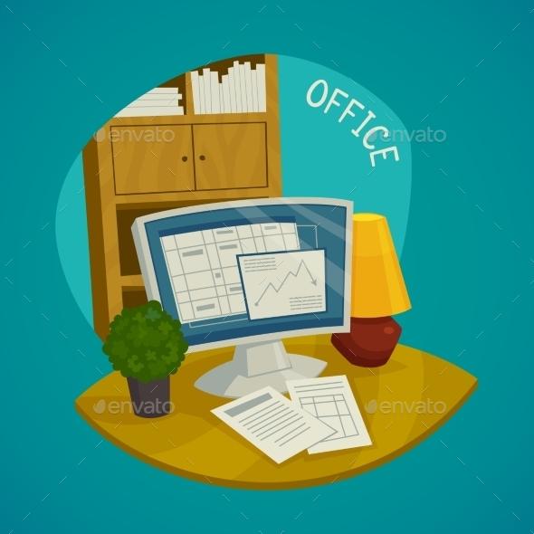 Office Design Concept Set - Concepts Business
