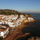 Mediterranean Village Aerial Shoot at Sunset - VideoHive Item for Sale
