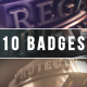 3D Badge Collection - VideoHive Item for Sale