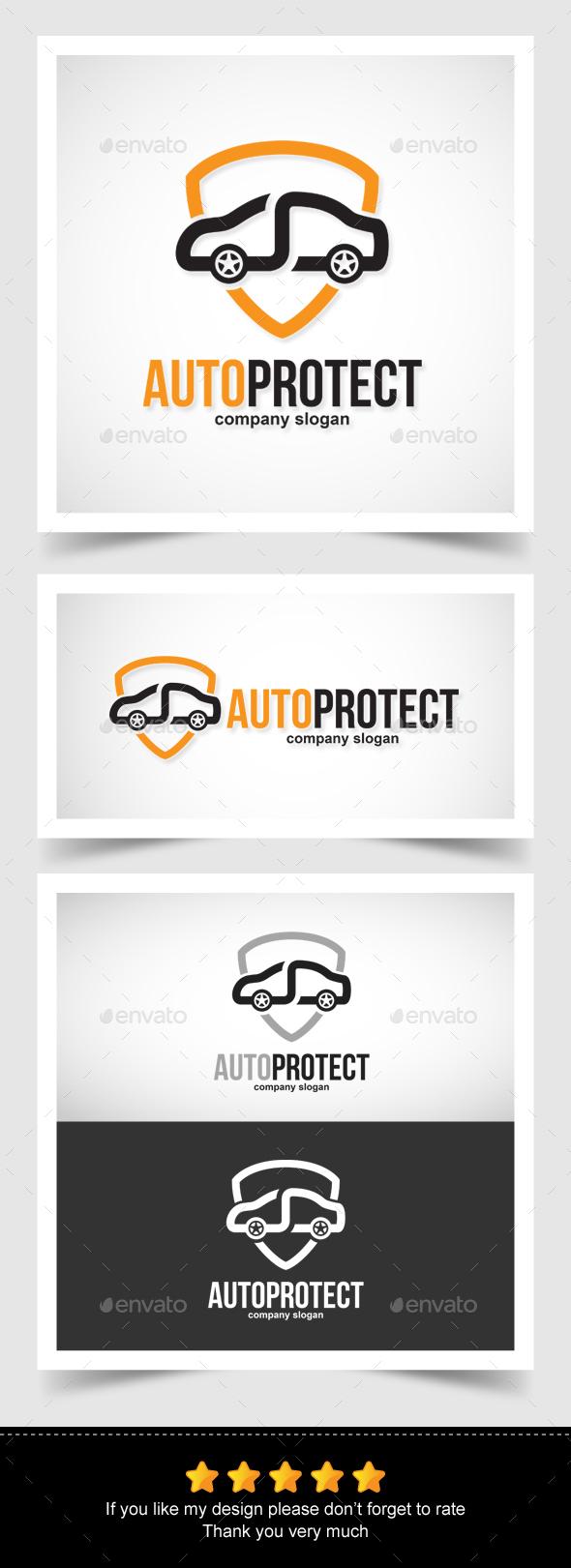 Auto Protect- Infinity Logo - Symbols Logo Templates
