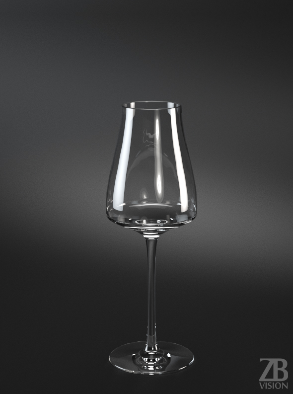 Sauternes White Wine Glass - 3DOcean Item for Sale