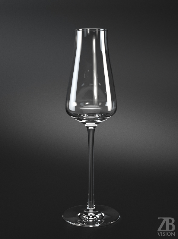 Sekt Wine Glass - 3DOcean Item for Sale