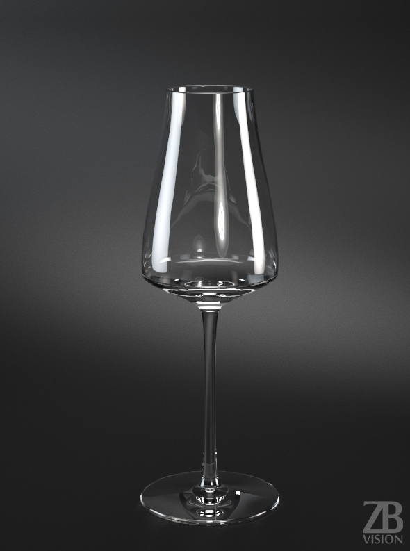 Sauvignon Blanc White Wine Glass - 3DOcean Item for Sale