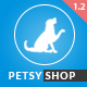 Petsy Shop Responsive OpenCart Theme Nulled