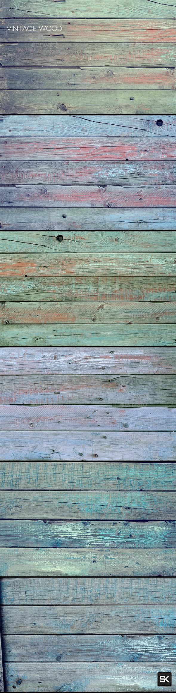 Vintage Wood.13 - Wood Textures