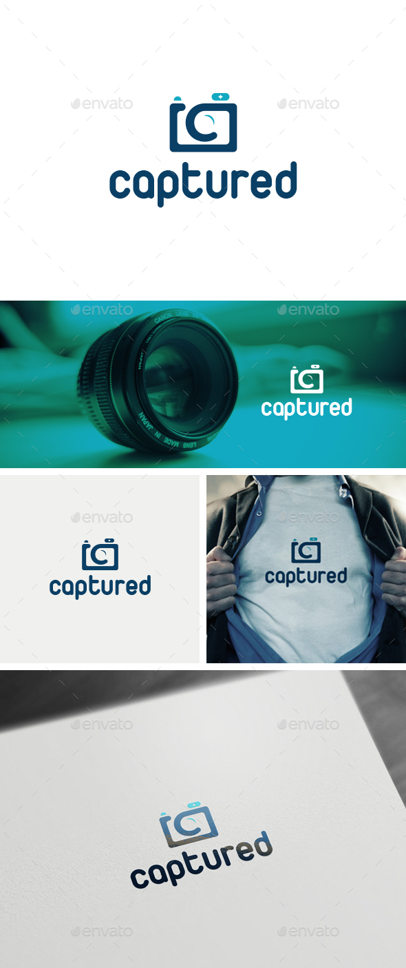 Captured Logo Template - Logo Templates