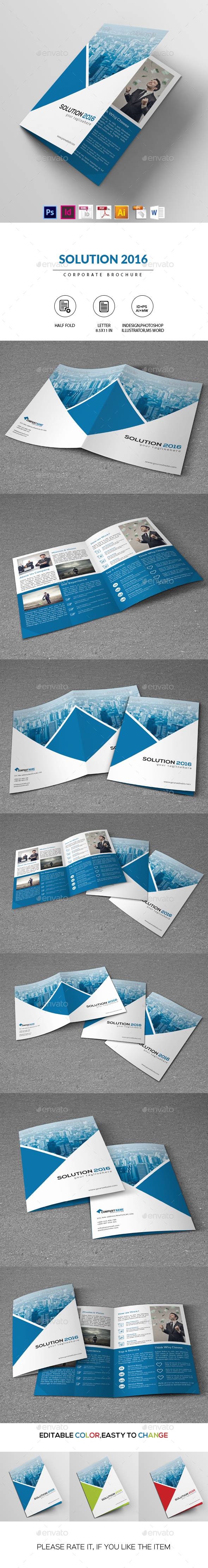 Business Solution 2016 | Corporate Brochure - Corporate Brochures