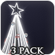 Christmas Neon Light Trees - 3 Pack - VideoHive Item for Sale