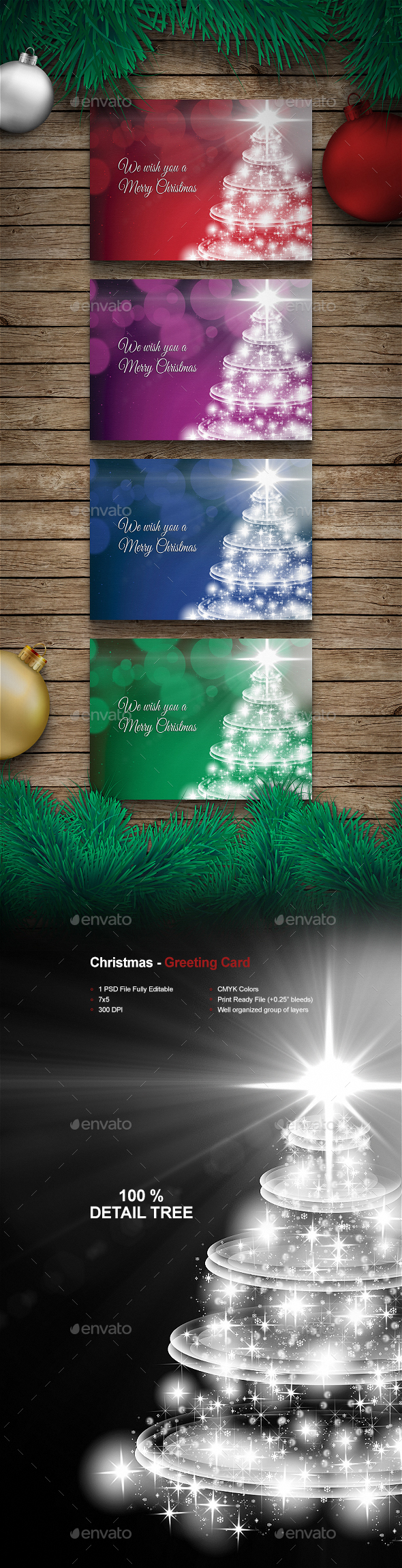 Christmas - Greeting card - Holiday Greeting Cards