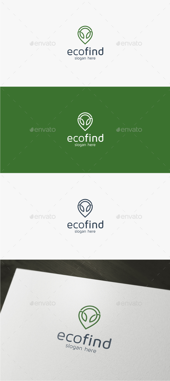 Eco Find - Logo Template - Nature Logo Templates