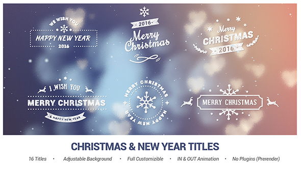 Christmas u0026 New Year Titles