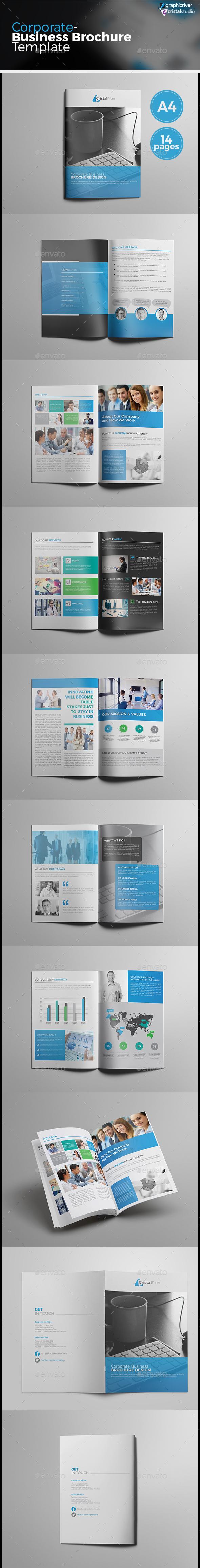 Corporate Business Catalog/Brochure - Corporate Brochures