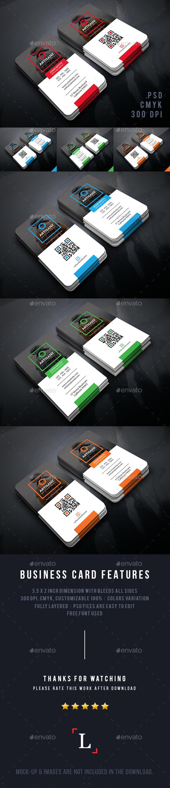 Creative Photographer Business Cards - Business Cards Print Templates