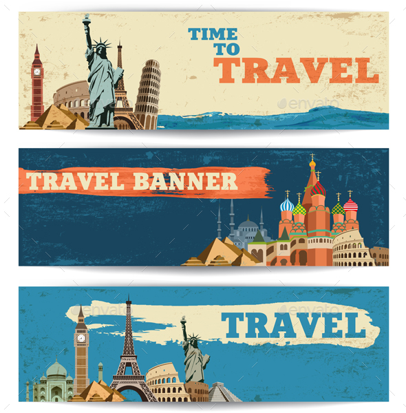 Travel Banners - Travel Conceptual