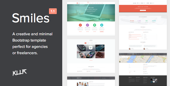 Smiles - Responsive Multi-purpose HTML Template