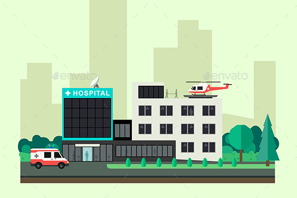 Hospital - Buildings Objects