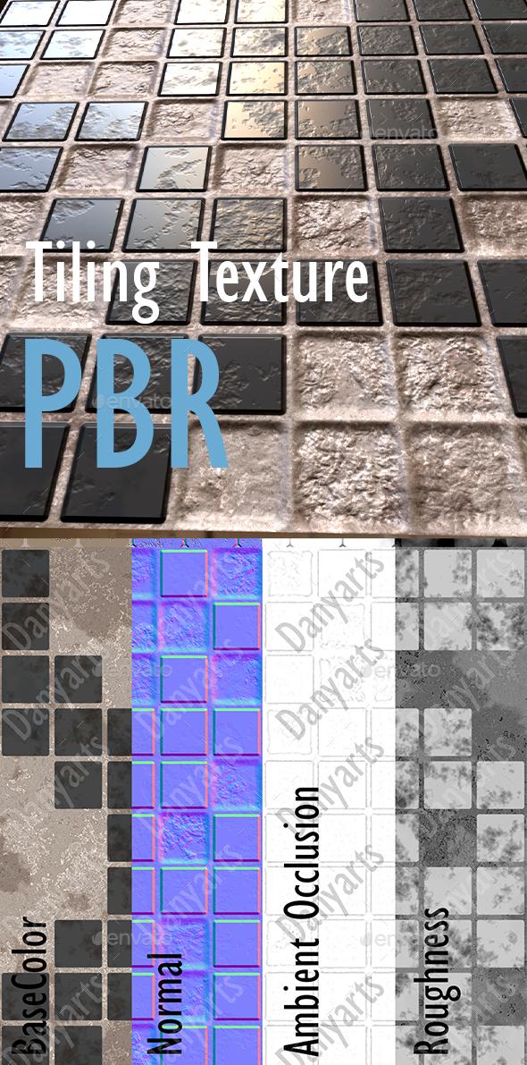 Tiling Texture PBR - 3DOcean Item for Sale