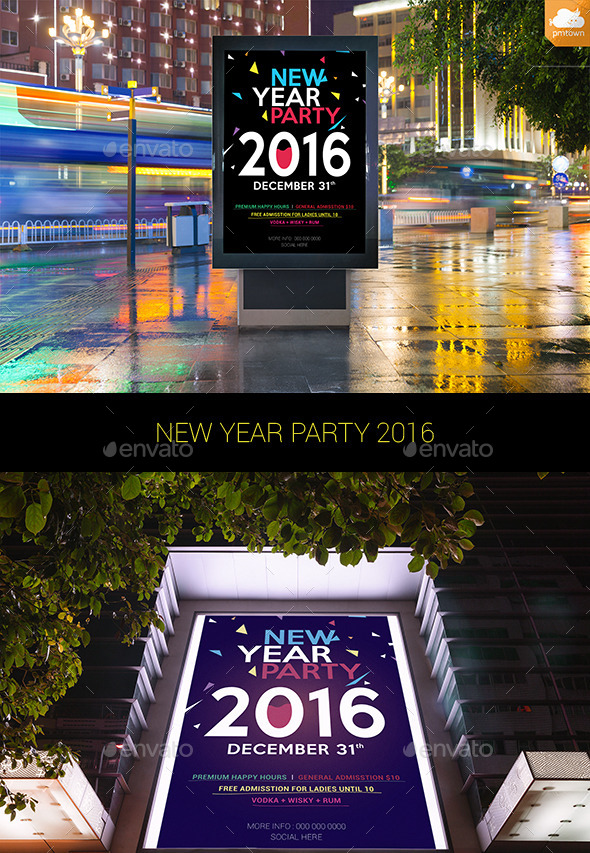 New Year Party 2016 - Clubs & Parties Events