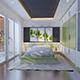 3d model and render of bedroom interior - 3DOcean Item for Sale