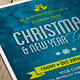 Christmas, New Year Party Flyer & Invitation - GraphicRiver Item for Sale
