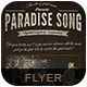 Paradise Song Flyer Poster - GraphicRiver Item for Sale