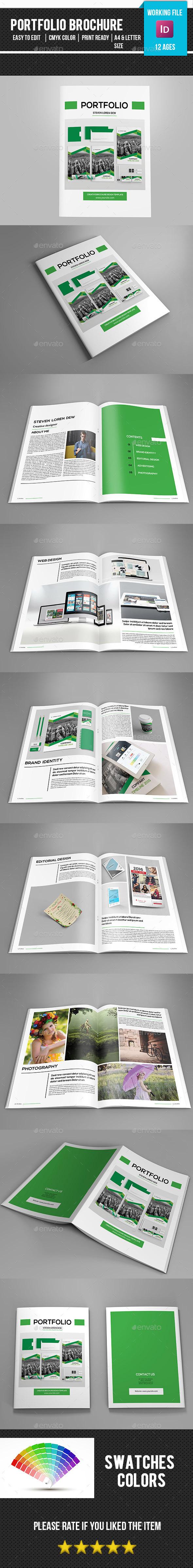 Portfolio Brochure Template-V321 - Portfolio Brochures