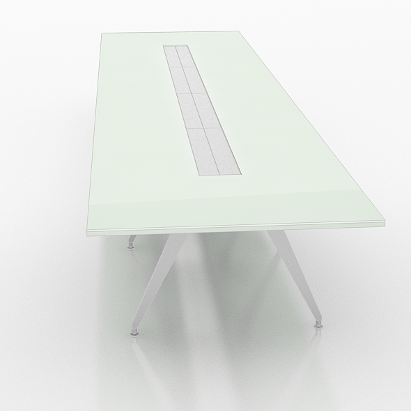 Office Meeting glass table  - 3DOcean Item for Sale