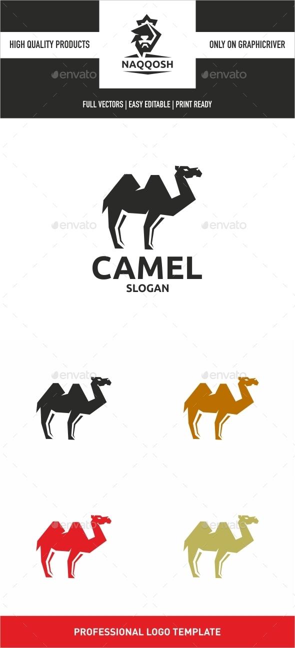 Camel - Animals Logo Templates
