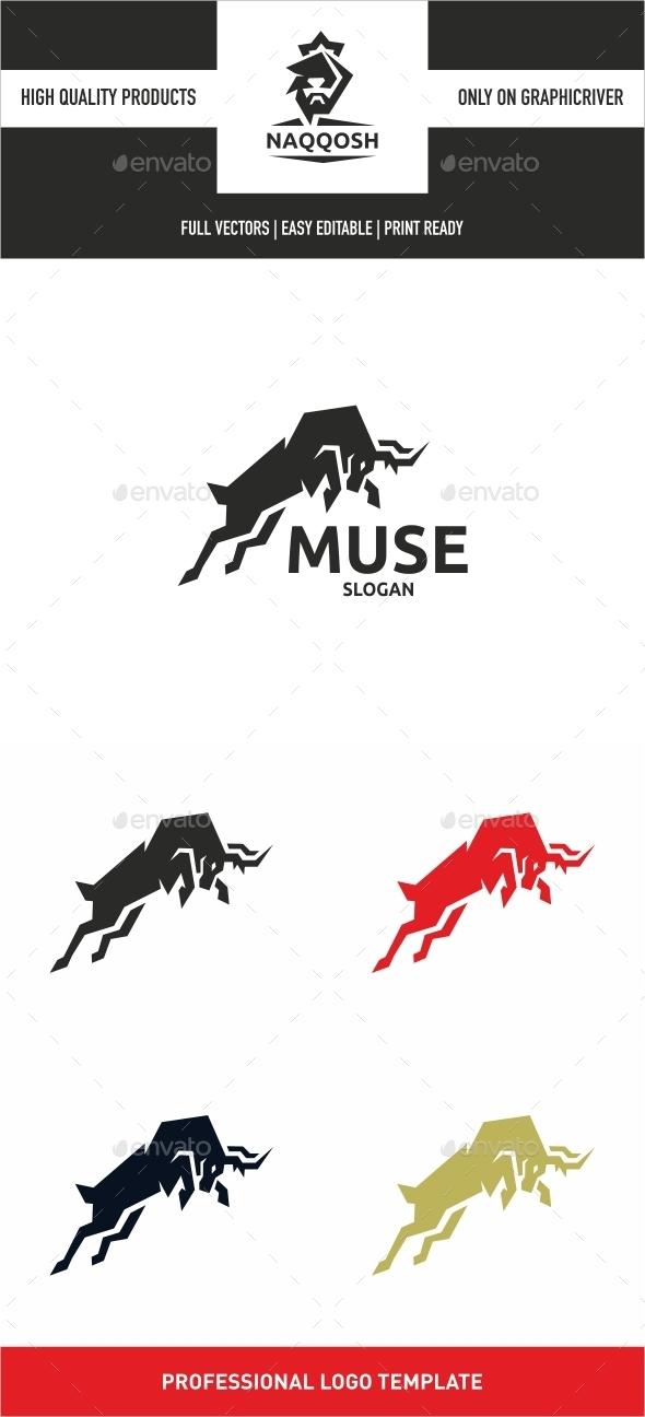 Muse - Animals Logo Templates