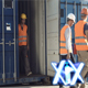 Workers In Container Port - VideoHive Item for Sale