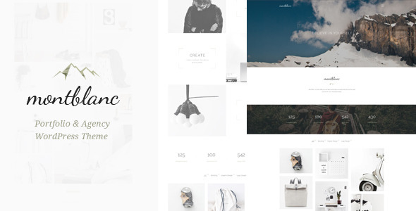Montblanc – Minimal Creative WP Theme