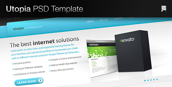 Free Download Utopia PSD Template Nulled Latest Version